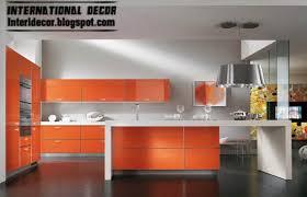 contemporary orange kitchen cabinets designs 2013 home