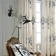 Black And White Blackout Curtains White Blackout Curtains Grommet Rabbitgirl Me
