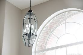 Adding Crystals To Chandelier Home Improvement Painting Old Chandeliers And Light Fixtures