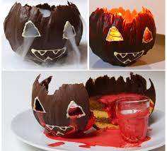 jack o lantern chocolate pumpkin mousse cake 7 steps with pictures