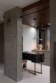 industrial interior design kenzo flat by olga akulova