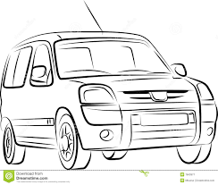 car drawing drawing of the car stock vector image of auto elegance 7843977