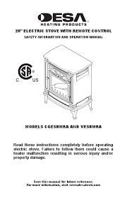 search electric stove user manuals manualsonline com