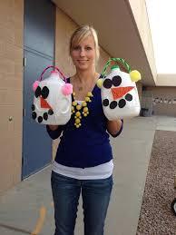 milk jug snowman recycle craft for kids www daniellesplace com