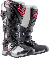 motorcycle racing gear 2015 fox racing womens comp 5 boots motocross dirt bike mx atv