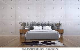 3d rendering interior design modern loft stock illustration
