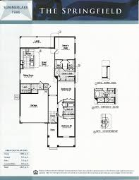 Adobe Floor Plans by Summerlake Dr Horton Homes Springfield Floor Plan In Winter Garden