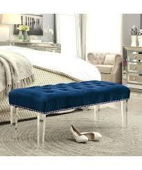 velvet tufted ottoman for sale bed frame uk faedaworks com