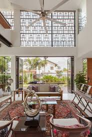 a stunning contemporary home with teak screens home design lover