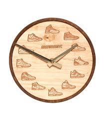 good wood nyc jordan clock lite brown jimmy jazz gwck0011