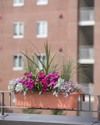 adjust balcony railing planters attractive exterior adjustable