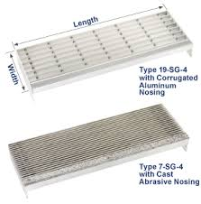 aluminum grate stair treads grating pacific call 800 321 4314