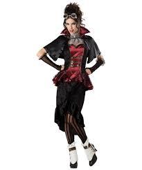Victorian Halloween Costumes Women Steampunk Victorian Vampiress Halloween Costume