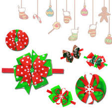 christmas accessories dovetail bow tie child korean version christmas accessories headband