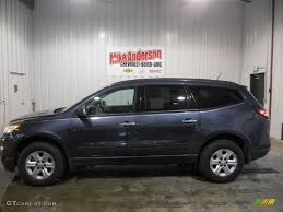 chevrolet traverse ls 2013 atlantis blue metallic chevrolet traverse ls 73289496