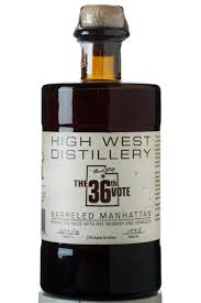 carpano vermouth high west u0027the 36th vote u0027 barreled manhattan rye haskell u0027s