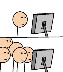 Meme At Computer - image 393082 computer reaction faces know your meme