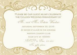 wedding anniversary invitations afoodaffair me