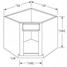 Kitchen Corner Sink Cabinet Kitchen Corner Base Cabinet Dimensions - Base kitchen cabinet dimensions