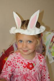 easter bunny hat a paper plate easter bunny hat easter classroom crafting