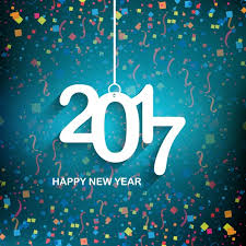 happy new year backdrop happy new year background 2017 with colored confetti vector free