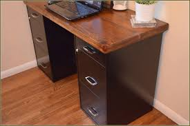metal desk with file cabinet under counter file cabinets wood http advice tips com