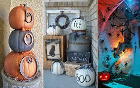 Halloween Patio Decorating Ideas 35 Best Outdoor Halloween Decoration Ideas Easy Halloween Yard And