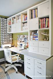 Using 2 Ikea Expedit Bookcases by 19 Home Office Solutions Office Desks Nice And Room