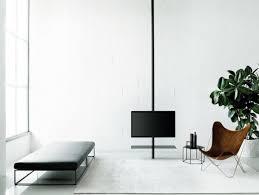 porta tv soffitto desalto sail 307 supporto per monitor tv in metallo da soffitto