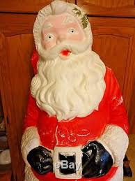 Life Size Santa Claus Decoration Rare 55 Life Size Santa Claus Christmas Blowmold Light Up Yard