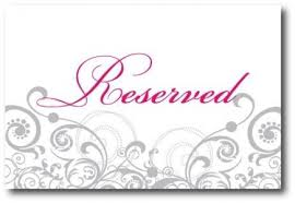 reserved signs for wedding tables weditorial a wedding and event planner s blog parties