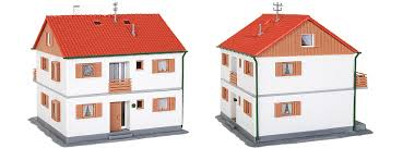 Kaufen Zweifamilienhaus Kibri 38723 Zweifamilienhaus Bausatz Spur H0 Online Kaufen Bei
