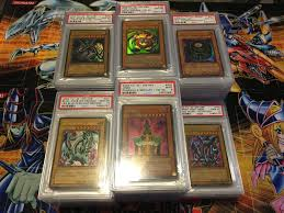 psa graded yu gi oh cards for sale