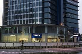 volvo corporate new volvo showroom in kuala lumpur autoworld com my