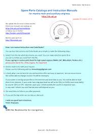 marine manuals documents