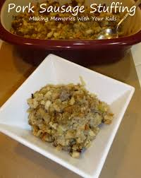 thanksgiving sausage dressing sausage stuffing and some thanksgiving tips from mrs cubbison u0027s