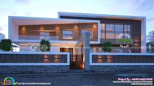 kerala home design dubai box type flat roof contemporary home design kerala home design