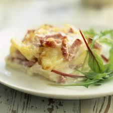 recette de cuisine simple et pas cher gratin dauphinois au jambon et lardons cuisine plurielles fr