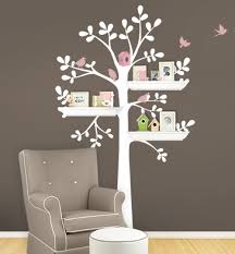 shelving tree decal with birds shelving tree wall decal shelving tree wall decal