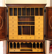 jasper cabinet co secretary desk with hutch ebth