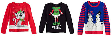 ugly really cute christmas sweaters from 7 99 for the entire