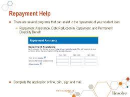 national student loans service centre online ppt download