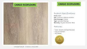 Laminate Flooring Ac3 Cargo Ecofloor Washed Sand 8mm Laminate Price Per Square