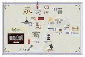 Surrey England Map by This Magical Map Shows All The Harry Potter Locations In London