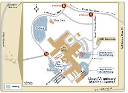 map to map directions college of veterinary medicine