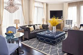 Transitional Decorating Style Photos - marvelous cocktail ottoman decorating ideas images in living room