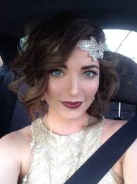 my modern take on 20s makeup for my work christmas party ccw