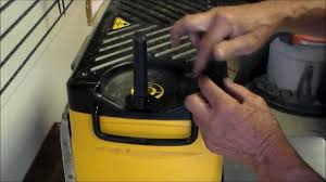 how to change drive belt thickness planer youtube