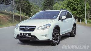subaru xv review subaru xv a very likeable ckd japanese crossover