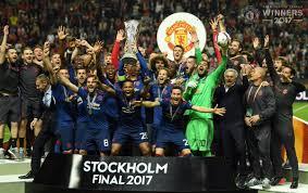 footballmole uel final man united beat ajax 2 0 to lift trophy
